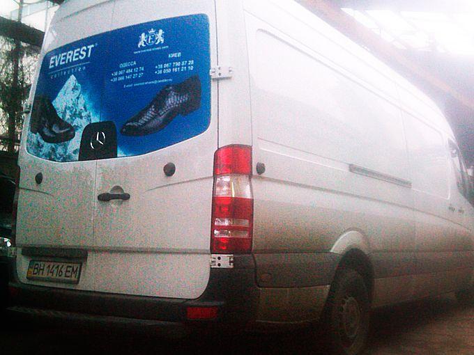 Брендирование микроавтобуса