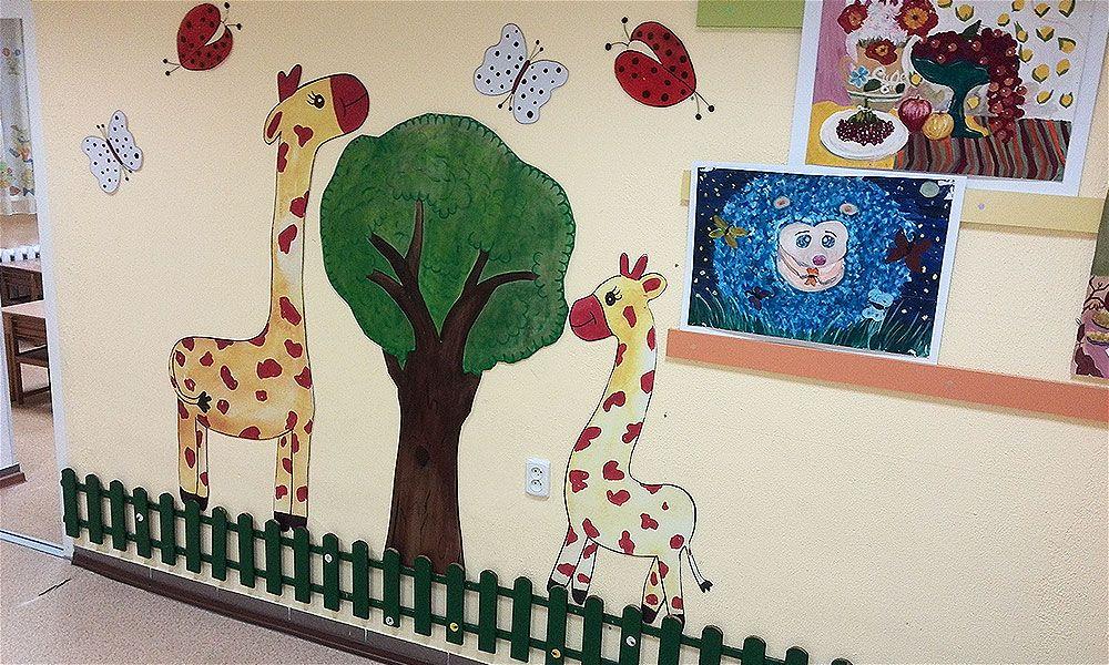 рекламное оформление детского центра