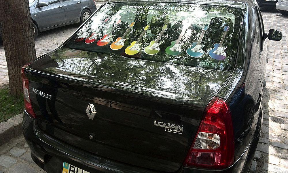 Оклейка пленкой заднего стекла автомобиля