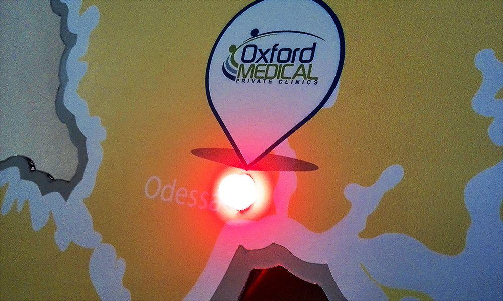 светодиодная карта для Oxford medical
