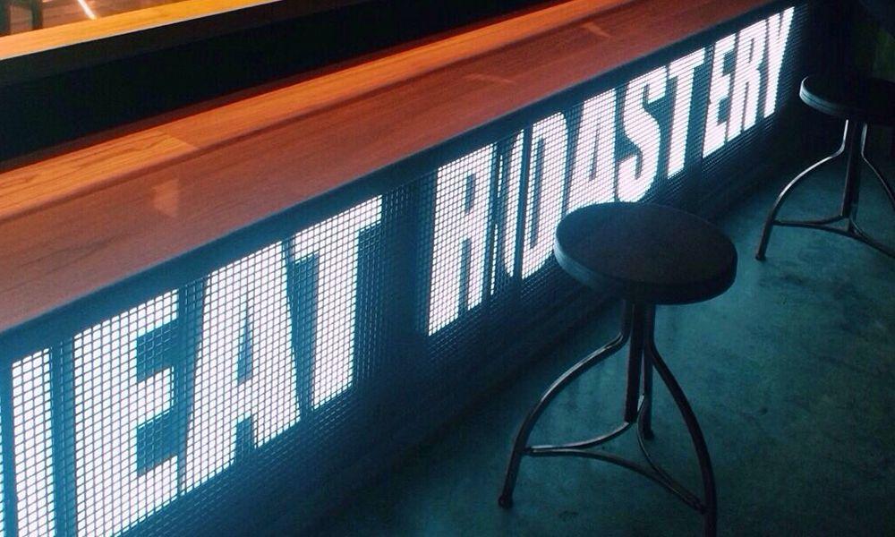Рекламные буквы Meat Roastery