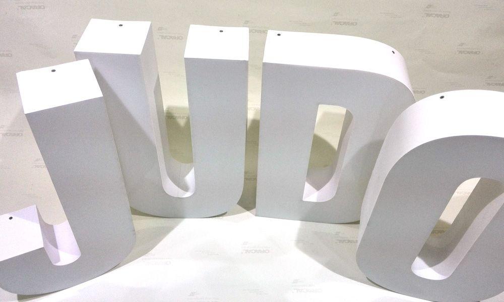 Объемные буквы Judo Europe Одесса