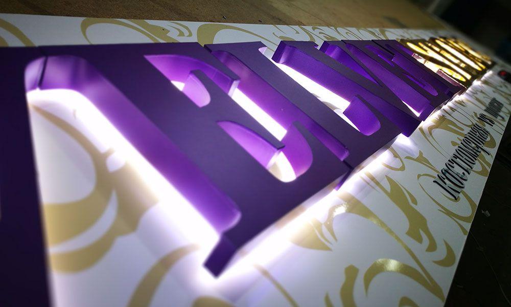 Светодиодные объемные буквы