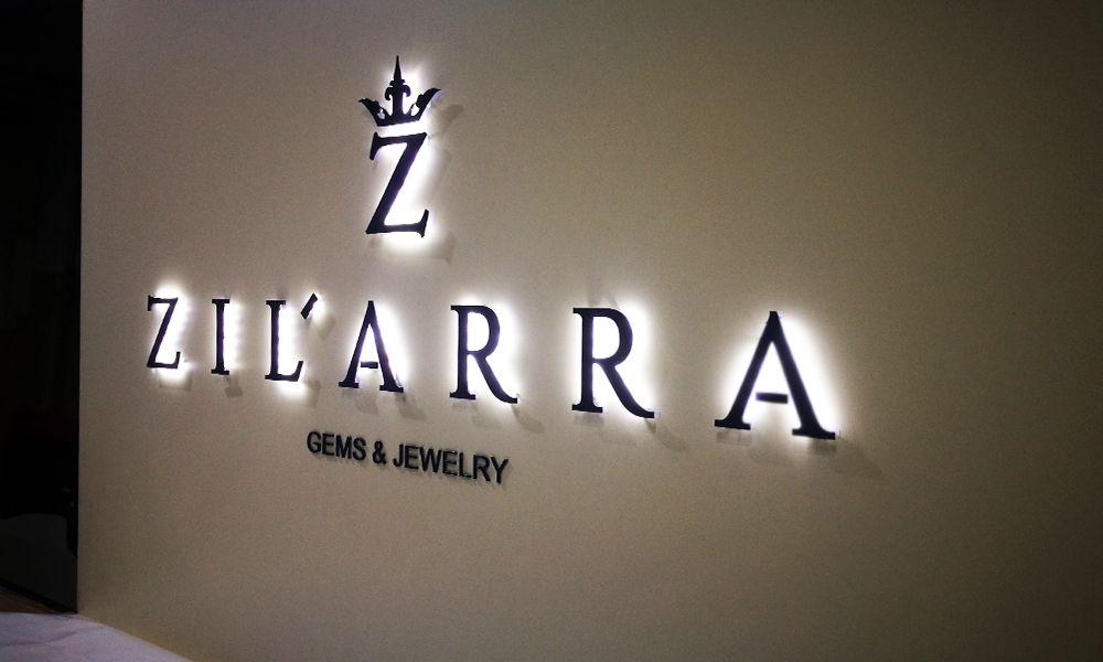 Интерьерная вывеска Zilarra