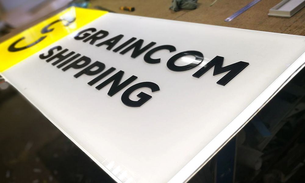 Лайтбокс Graincom