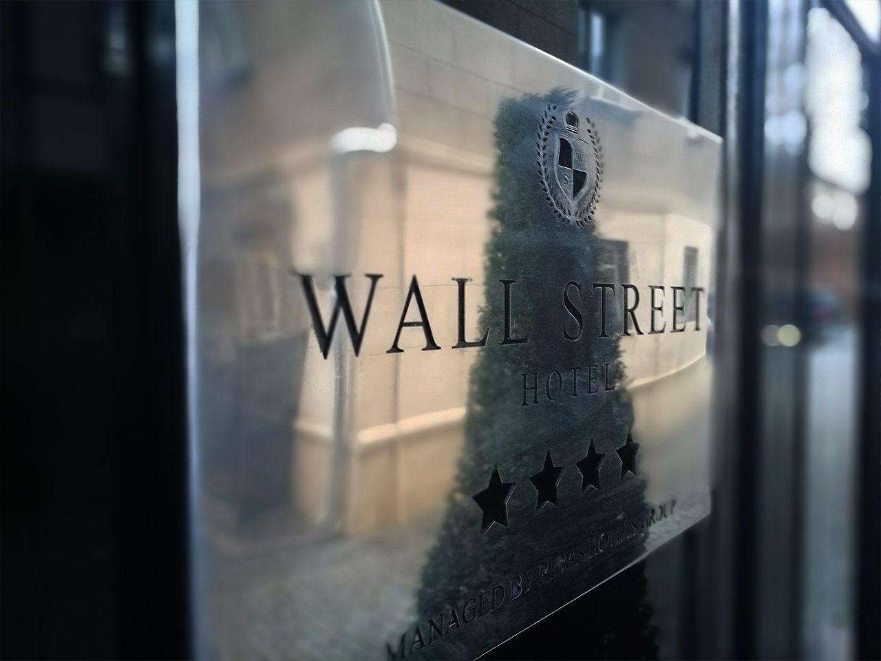 Таблички Wall Street