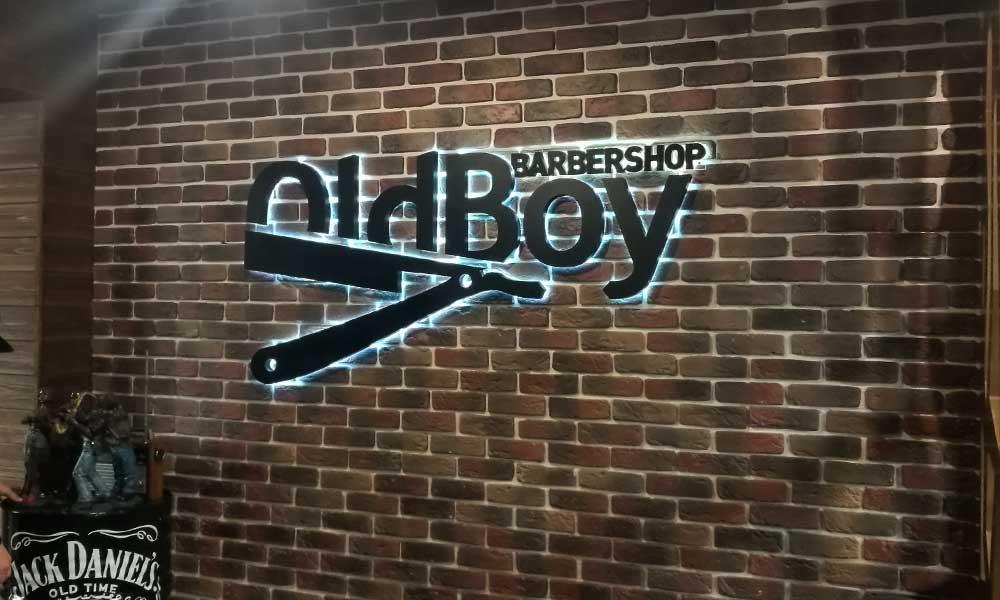 Интерьерная вывеска Barbershop Oldboy
