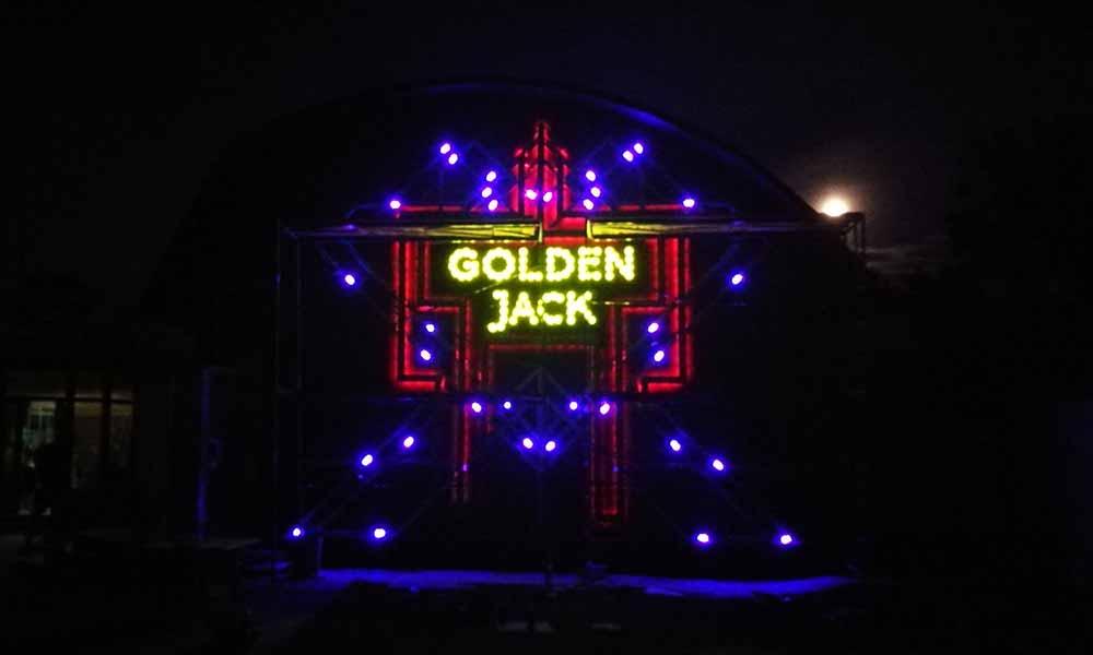 Вывеска казино со светодиодной подсветкой