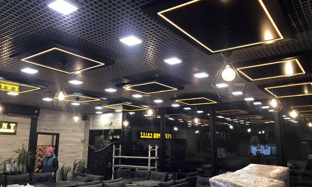 Потолочный светильник из композитного алюминия