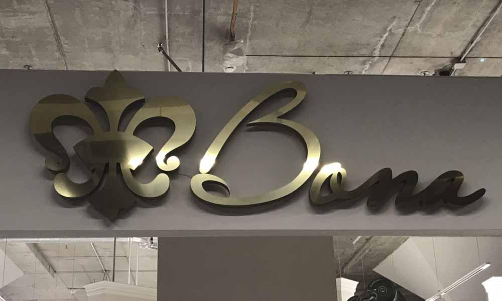 Вывески магазина дверей Бона