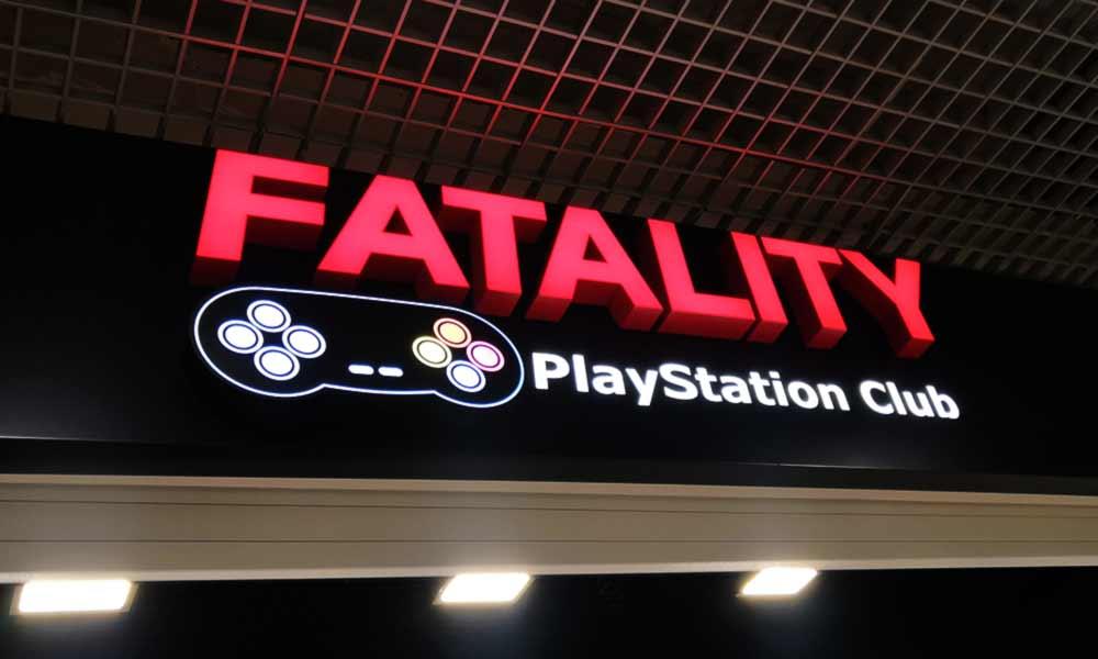 Объемные буквы Fatality