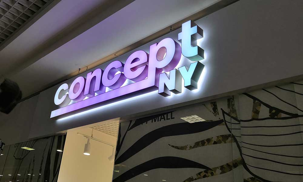Вывеска Concept NY