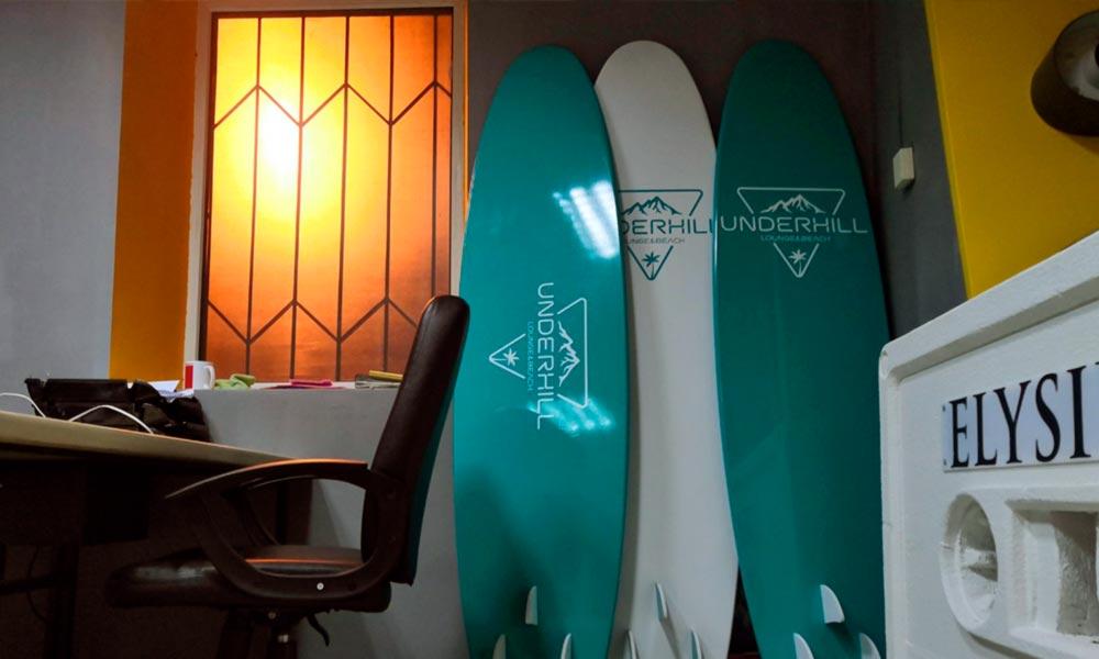 Доски для сёрфинга из пенополиуретана