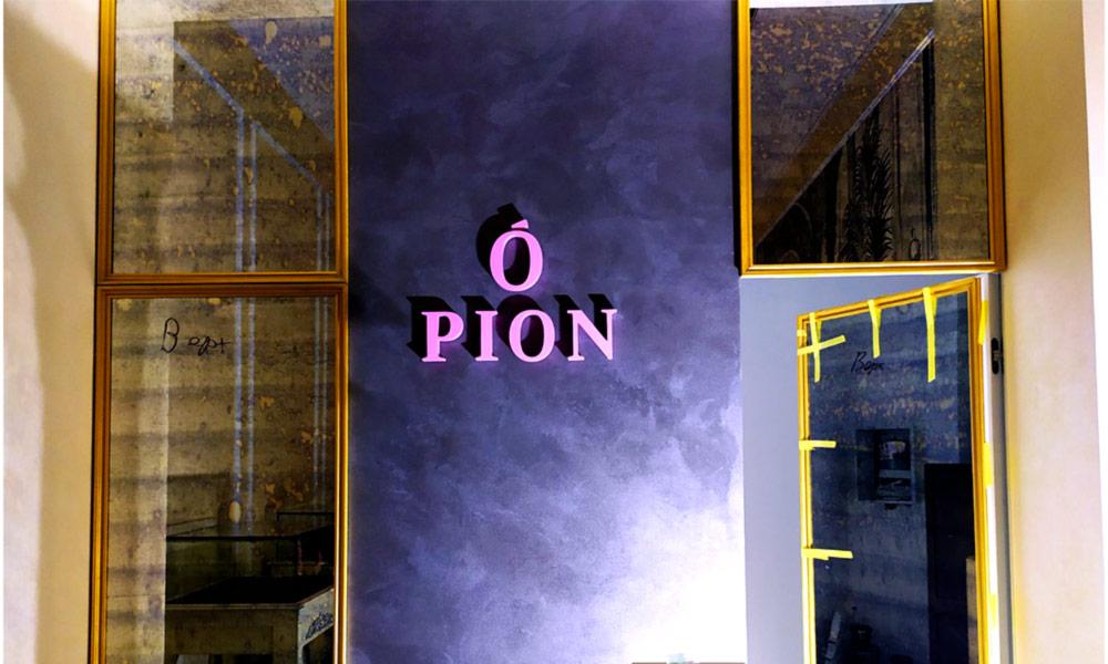 Объёмные буквы Pion