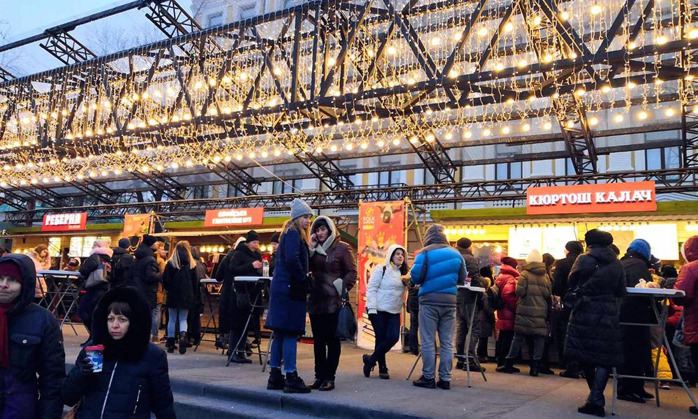 Светящиеся вывески в Киеве