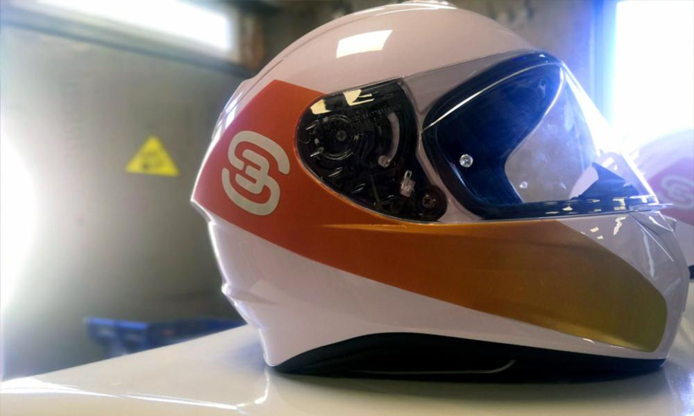 Брендирование шлемов