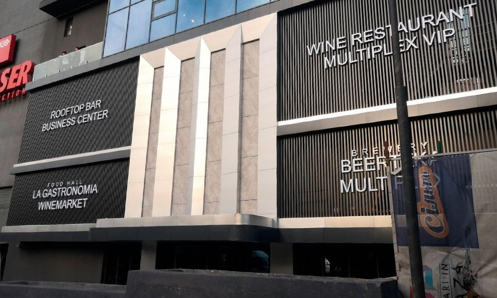 буквы на фасад торгового центра